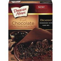 Duncan Hines Triple Chocolate Cake Mix