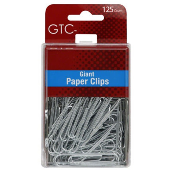 GTC Giant Paper Clips