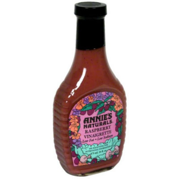 Annie's Homegrown Natural Lite Raspberry Vinaigrette Dressing Lite