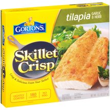 Gorton's Skillet Crisp Garlic & Herb Tilapia Fish Fillets