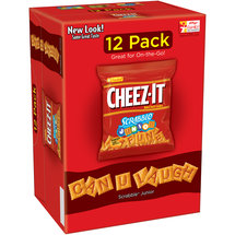 Cheez-It Scrabble Junior Baked Snack Crackers