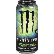 Monster Rehab Green Tea & Energy