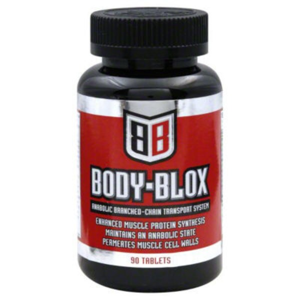 Body Blox Anabolic Branched-Chain Transport System, Tablets