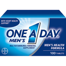 One A Day Multivitamin/Multimineral Supplement Men's Health Formula