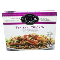 Saffron Road Mild Heat Level Teriyaki Chicken With Soba Noodles
