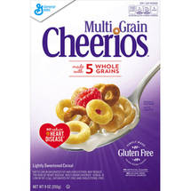 Multigrain Cheerios Cereal