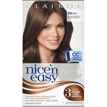 Clairol Nice 'N Easy Hair Color Natural Medium Golden Brown