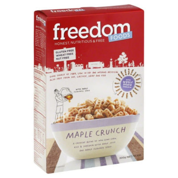 Freedom Foods Maple Crunch Cereal