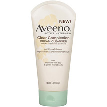 Aveeno(R) Clear Complexion Cream Cleanser Cleansers