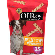 Ol' Roy Grilled Strips With Real Chicken Dog Treats