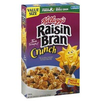 Kellogg's Raisin Bran Crunch Original Cereal