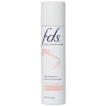 FDS Baby Powder Feminine Deodorant Spray