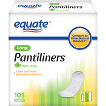 Equate Pantiliners Long Unscented