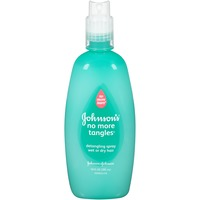 Johnson's® No More Tangles® Spray Detangler Baby Shampoo
