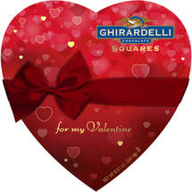 Ghirardelli Valentine Heart Assorted Chocolate Squares