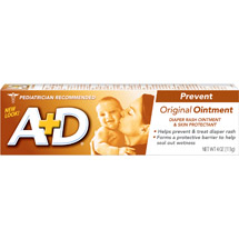 A D Diaper Rash & Skin Protectant Original Ointment