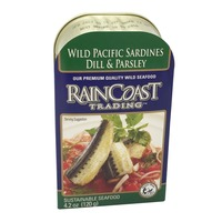 Rain Coast Trading Wild Pacific Sardines With Dill And Parsley