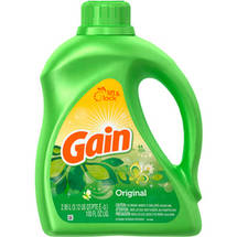 Gain 2X Concentrated Original Fresh Liquid Laundry Detergent