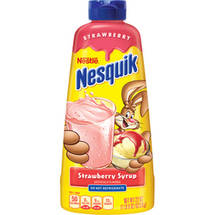 Nestle Nesquik Strawberry Syrup