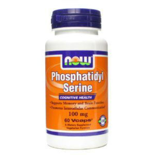 Now Phosphatidyl Serine 100 mg