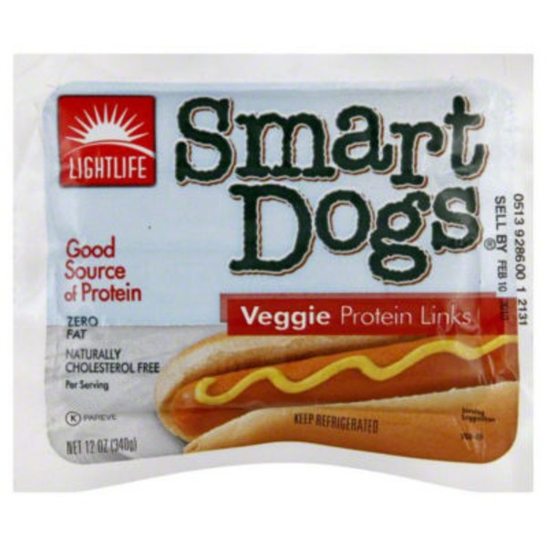 Lightlife Veggie Smart Dogs Protein Links