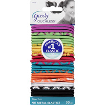 Goody Ouchless No Metal Elastics Citrus Twist