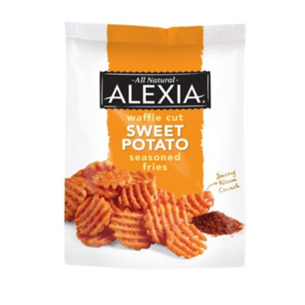 Alexia Waffle Cut Seasoned Salt Sweet Potato