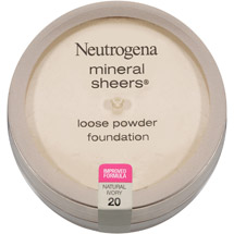 Neutrogena Mineral Sheers Loose Powder Foundation 20 Natural Ivory