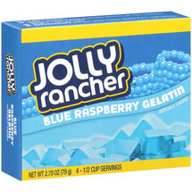 Jolly Rancher Blue Raspberry Gelatin Mix