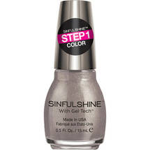 SinfulColors SinfulShine Step 1 Color Nail Color Prosecco