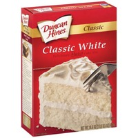 Duncan Hines Cake Mix, Classic White, Perfectly Moist