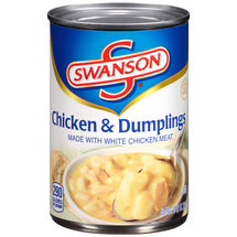 Swanson Chicken & Dumplings