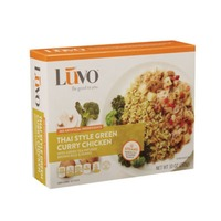 Luvo Thai Style Green Curry Chicken With Brown Rice