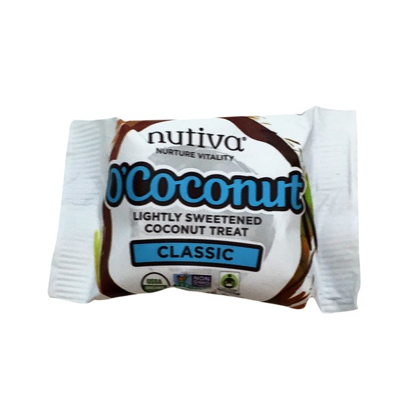 Nutiva O'Coconut Lightly Sweetened Coconut Treat Classic