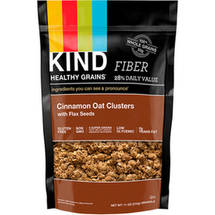KIND Healthy Grains Clusters Cinnamon Oat Clusters with Flax Seeds