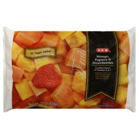 H-E-B Frozen Mango Papaya Strawberry Blend