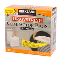 Kirkland Signature Compactor Bag With Drawstring