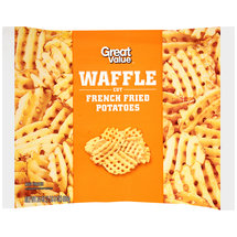 Great Value Waffle Cut French Fried Potatoes