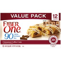 Fiber One 90 Calorie Cinnamon Coffee Cake Soft-Baked Bars