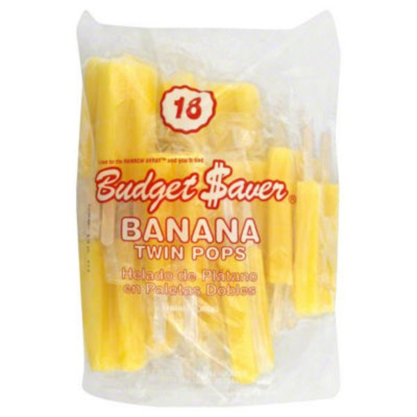 Budget Saver Twin Pops, Banana