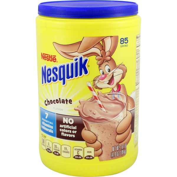 Nestle Nesquik Chocolate Powder Flavored Milk Powder