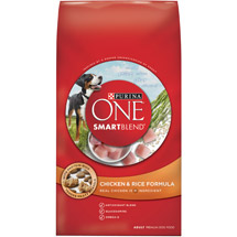 Purina One Total Nutrition Adult Total Nutrition Chicken & Rice Formula Dog Food