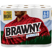 Brawny Pick-a-Size Big Roll Paper Towels