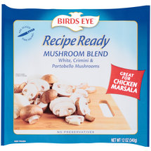 Birds Eye Recipe Ready Frozen Mushrooms Blend