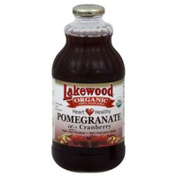 Lakewood Organic Smart Healthy Pomegranate with Cranberry 100% Juice