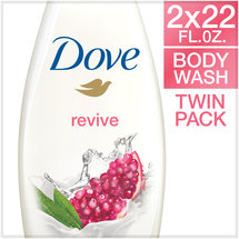 Dove go fresh Revive Body Wash 22 oz Twin Pack