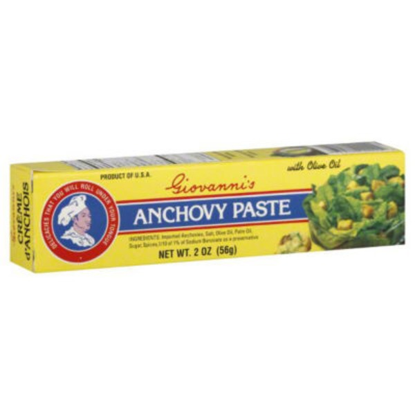 Giovannis Anchovy Paste with Olive Oil