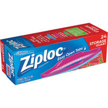 Ziploc Double Zipper Heavy Duty Storage Bags