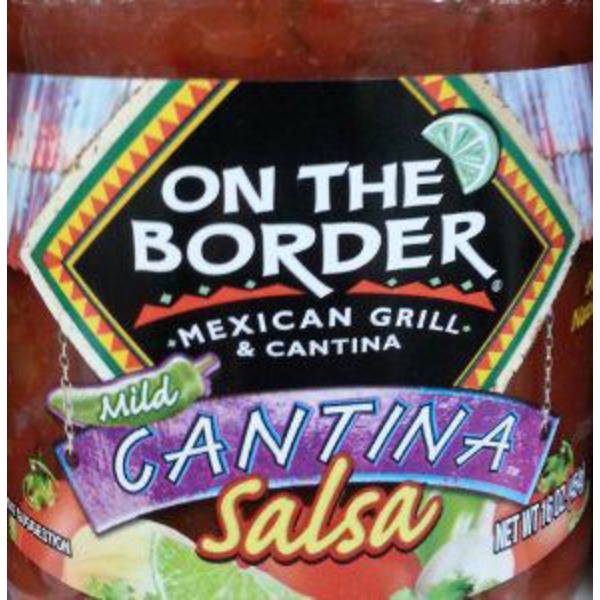 On The Border Cantina Salsa Lime & Cilantro Mild