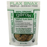 Go Raw Super Simple Sprouted Flax Snax
